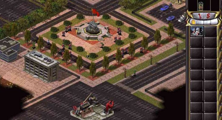 Скриншот игры Command & Conquer: Red Alert 2