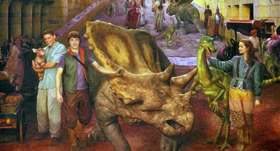 приключения с динозаврами картинки объявления копируют